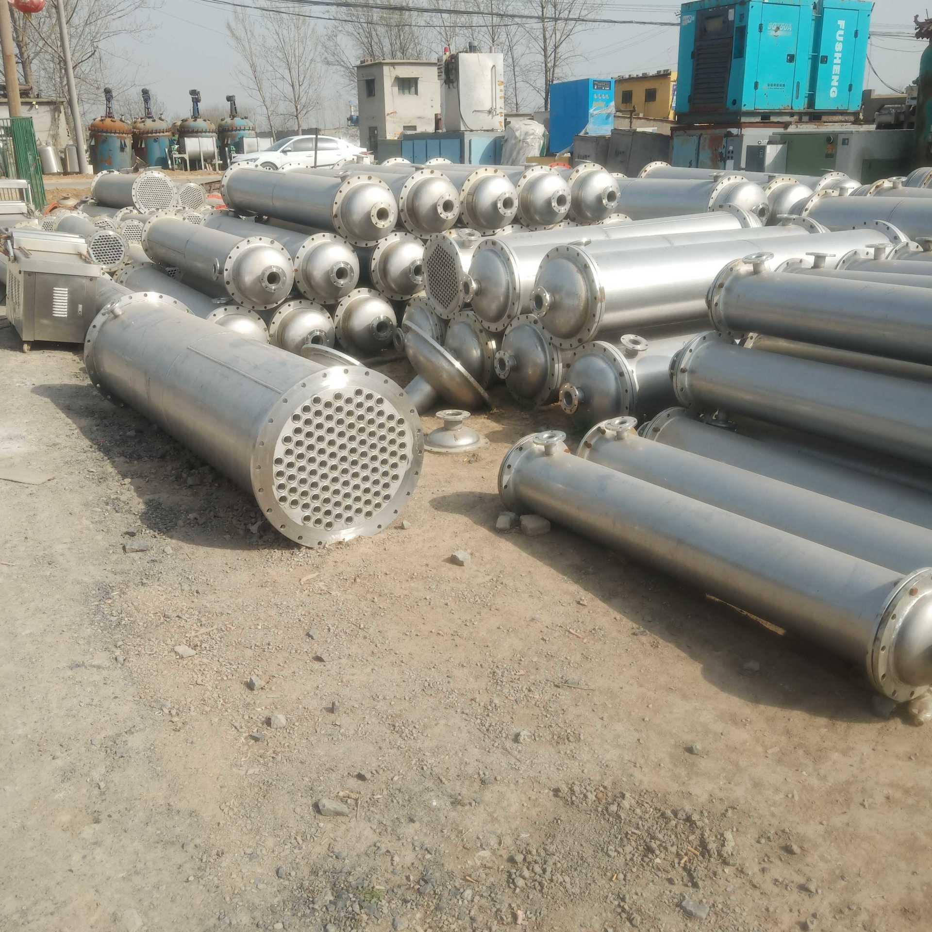 冷凝器 二手不銹鋼冷凝器 梁山玉民設備購銷 常年出售