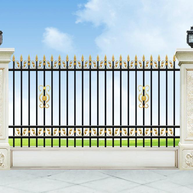 大同 铁艺栏杆 小区围墙铁艺护栏锌钢护栏价格示例图1