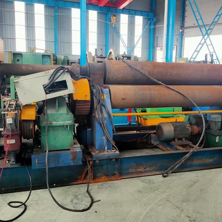 二手卷板機 實心液壓卷板機 攬勝 電動錐形卷板機