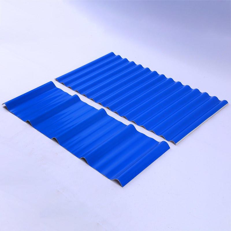 山東防腐瓦 山東愛碩920小波浪型PVC防腐塑鋼瓦 APVC屋面樹脂瓦 廠家直供價格
