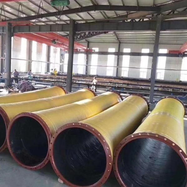 大口径�e胶管  洲新管业 厂家供应 大口径输水那�真胶管 规格齐全
