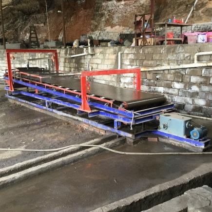 毛毯機 懸振毛毯選礦機 選尾礦的毛毯機回收率